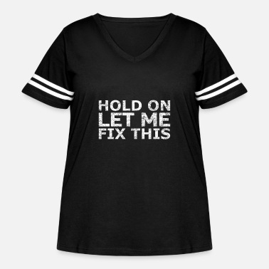 Broken Craftsman repair - Women's Curvy Vintage Sport T-Shirt