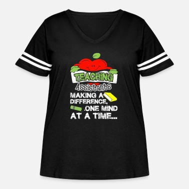 Teaching TEACHING ASSISTANT SHIRT - Women's Curvy Vintage Sport T-Shirt