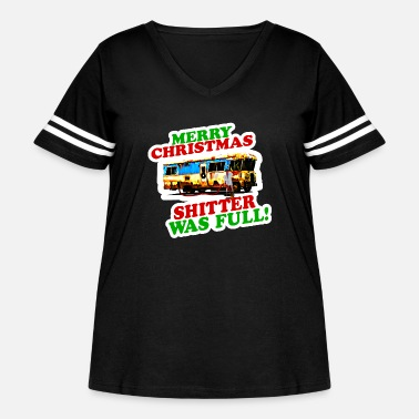 National Christmas Vacation Gift - Women's Curvy Vintage Sport T-Shirt
