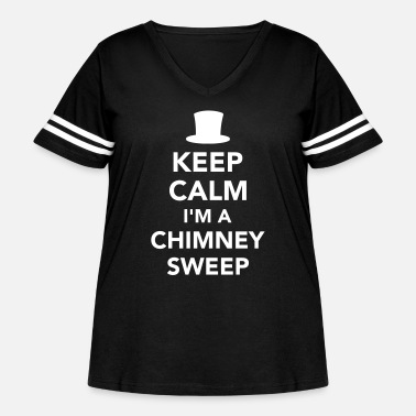 Chimney Sweep Chimney sweep - Women's Curvy Vintage Sport T-Shirt