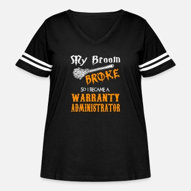 Administrator Warranty Administrator - Women's Curvy Vintage Sport T-Shirt