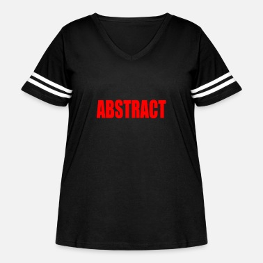 Abstract abstract - Women's Curvy Vintage Sport T-Shirt
