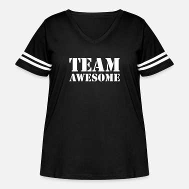 Team Awesome Team awesome - Women's Curvy Vintage Sport T-Shirt