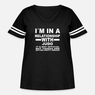 Judo relationship with JUDO - Women's Curvy Vintage Sport T-Shirt