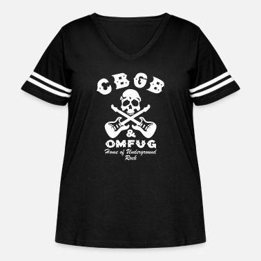 Punk Rock CBGB OMFUG Punk Rock of Underground - Women's Curvy Vintage Sport T-Shirt