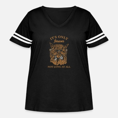 Labyrinth The Labyrinth Jareth Goblin King Gift It's Only - Women's Curvy Vintage Sport T-Shirt