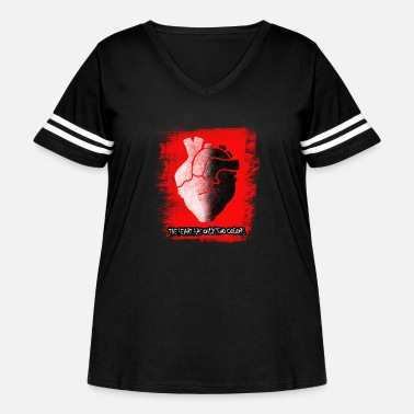 The Heart - Women's Curvy Vintage Sport T-Shirt