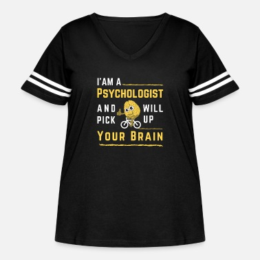 Anxiety Psychologist for your Brain Ride - Women's Curvy Vintage Sport T-Shirt