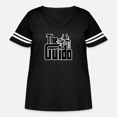 Guido The Guido - Women's Curvy Vintage Sport T-Shirt