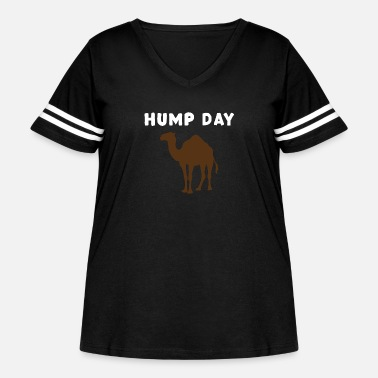 Humping Hump Day - Women's Curvy Vintage Sport T-Shirt