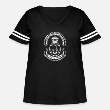 Navy Royal Australian Navy - I'm the last of a dying - Women's Curvy Vintage Sport T-Shirt