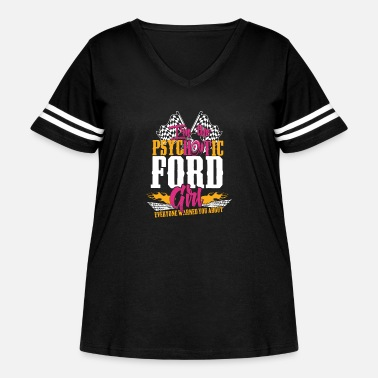 Michael Clifford Psychotic Ford girl - Everyone warned you about - Women's Curvy Vintage Sport T-Shirt