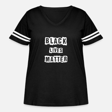Fist Black Lives Matter Shirt black Lives Matter Fist - Women's Curvy Vintage Sport T-Shirt