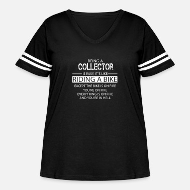 Collector Collector - Women's Curvy Vintage Sport T-Shirt