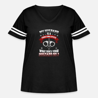 Correctional Officer Do It correctional officer funny, correctional officer, - Women's Curvy Vintage Sport T-Shirt