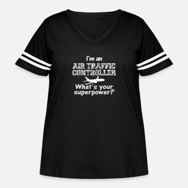 Controller Air traffic controller - i'm an air traffic cont - Women's Curvy Vintage Sport T-Shirt