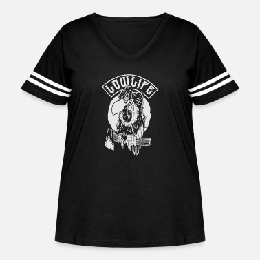 Low German Low Life - Women's Curvy Vintage Sport T-Shirt