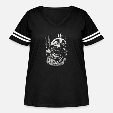 Chica Chica FNAF - Women's Curvy Vintage Sport T-Shirt
