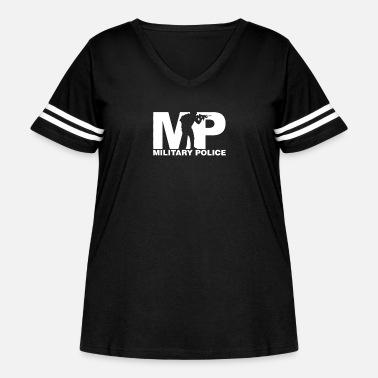 Police Military Police - Women's Curvy Vintage Sport T-Shirt