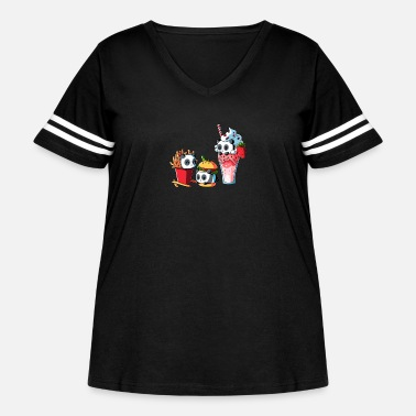 Meal COMBO MEAL - Women's Curvy Vintage Sport T-Shirt