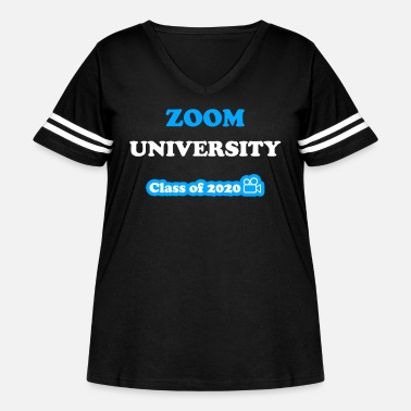 Gobelin Zoom University Class Of 2020 Gobelin - Women's Curvy Vintage Sport T-Shirt