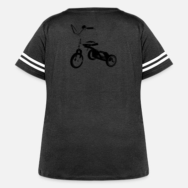 Tricycle tricycle - Women's Curvy Vintage Sport T-Shirt
