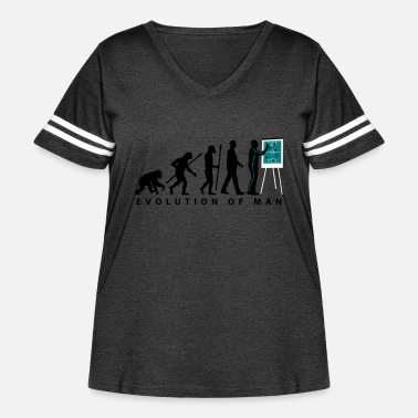 Building Evolution Coach 12_2017 3 - Women's Curvy Vintage Sport T-Shirt