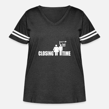Closing Time Closing Time - Women's Curvy Vintage Sport T-Shirt