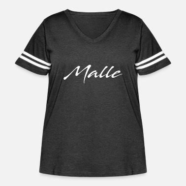 Mall Malle - Women's Curvy Vintage Sport T-Shirt