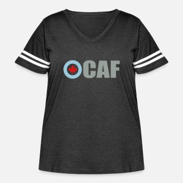 Royal Air Force Canadian Air Force - Women's Curvy Vintage Sport T-Shirt