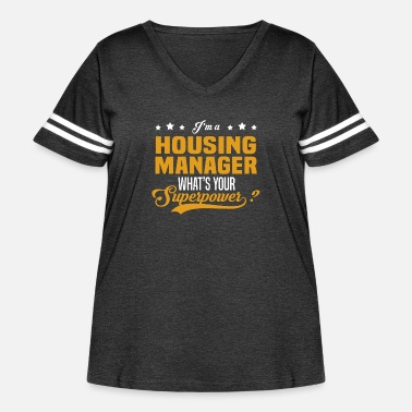 Housing Housing Manager - Women's Curvy Vintage Sport T-Shirt