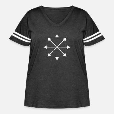 Chaos Chaos Magic | Occult Symbol - Women's Curvy Vintage Sport T-Shirt
