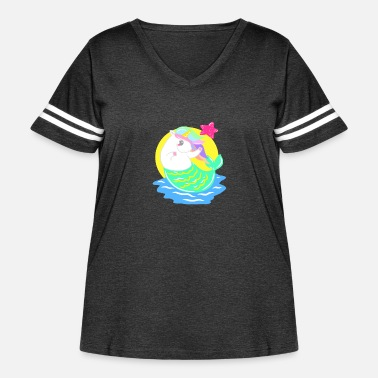 Heat Summer Warm Tropical Sunny Beach Vacation Bathing - Women's Curvy Vintage Sport T-Shirt