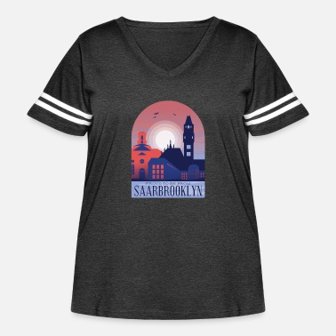 Saarbrücken Saarbrucken City - Women's Curvy Vintage Sport T-Shirt