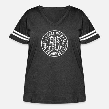 East Frisia East High - Women's Curvy Vintage Sport T-Shirt