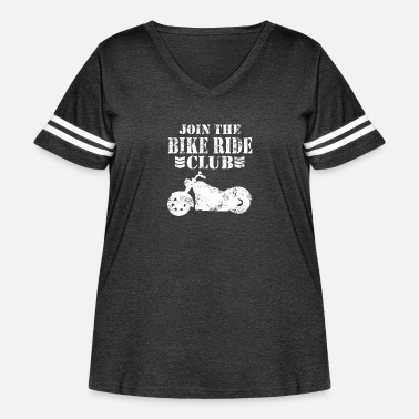 Riding Club Bike Ride club - Women's Curvy Vintage Sport T-Shirt