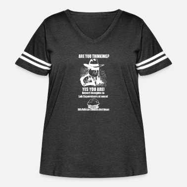 Prohibited Thinking is Prohibited - Women's Curvy Vintage Sport T-Shirt