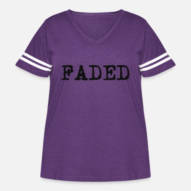 Fade FADED - Women's Curvy Vintage Sport T-Shirt