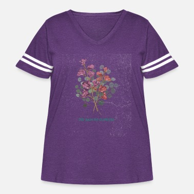 Rain art life rain flowers motivation woman gift idea - Women's Curvy Vintage Sport T-Shirt