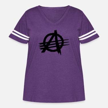 Aaa AAA [Against All Authorities] - Women's Curvy Vintage Sport T-Shirt