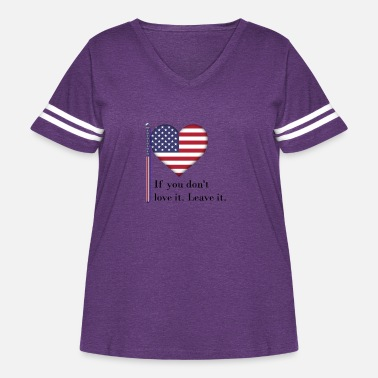 The British Empire Independence Day - Women's Curvy Vintage Sport T-Shirt