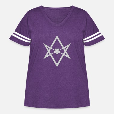 Magic Thelema - Women's Curvy Vintage Sport T-Shirt