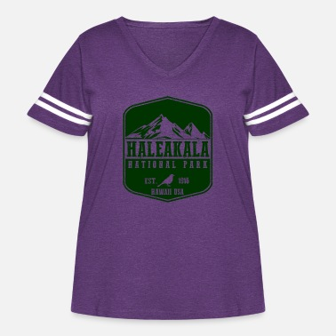 National Haleakala National Park - Women's Curvy Vintage Sport T-Shirt