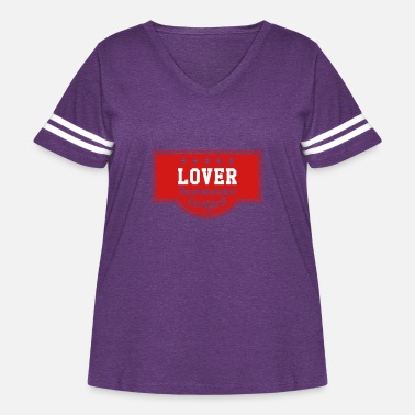 Romantic Joke Darling Lover - Recommended - Certified - Women's Curvy Vintage Sport T-Shirt