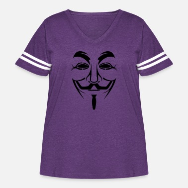 Anonymous Anonymous - Women's Curvy Vintage Sport T-Shirt