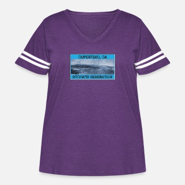 Orchard A Cupertino, CA Orchard Generation - Women's Curvy Vintage Sport T-Shirt