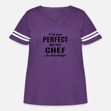 For Chef Chef - Women's Curvy Vintage Sport T-Shirt