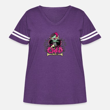 Child Punk Zombie - Women's Curvy Vintage Sport T-Shirt