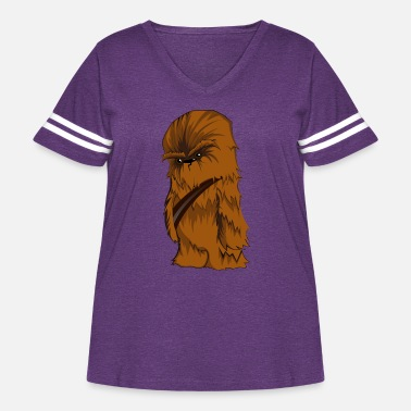 Chewbacca Angry Chewbacca - Women's Curvy Vintage Sport T-Shirt