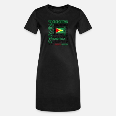 OC GUYANA - Women's T-Shirt Dress
